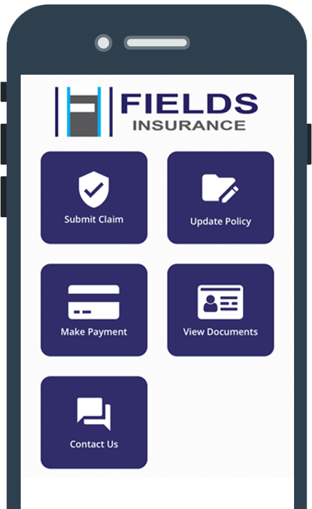 Fields Insurance Mobile App screenshot