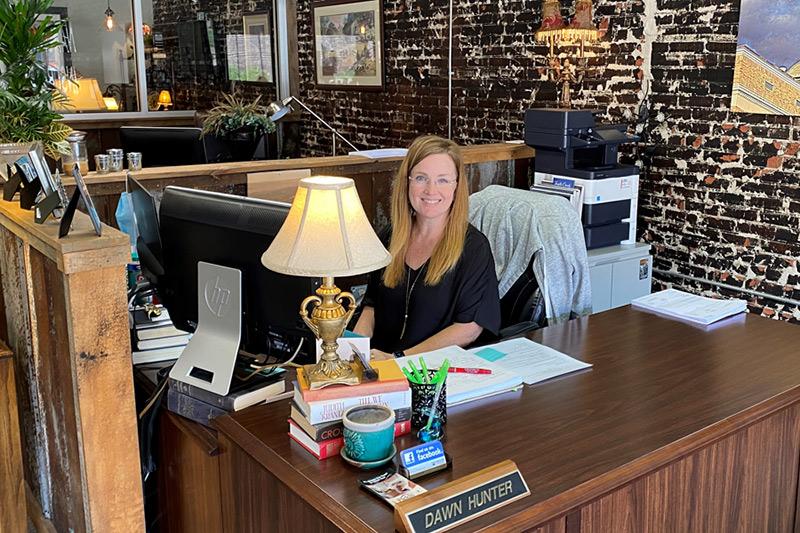 Dawn Somerville office photo